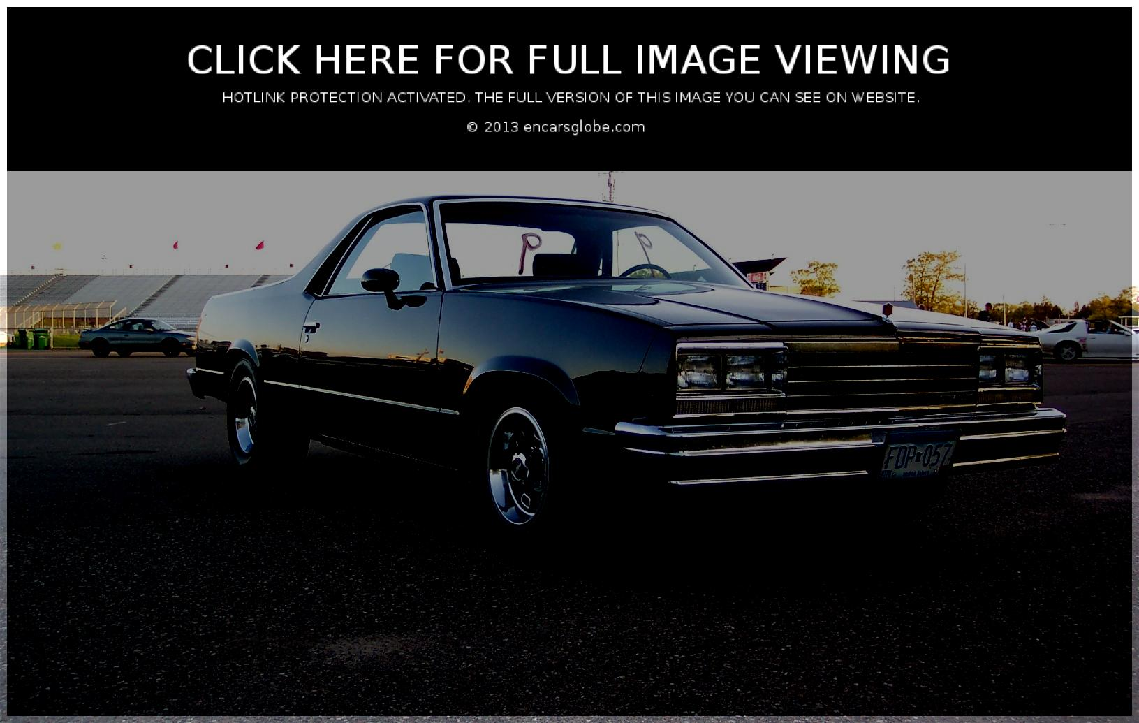 Chevrolet El Camino: Description of the model, photo gallery ...