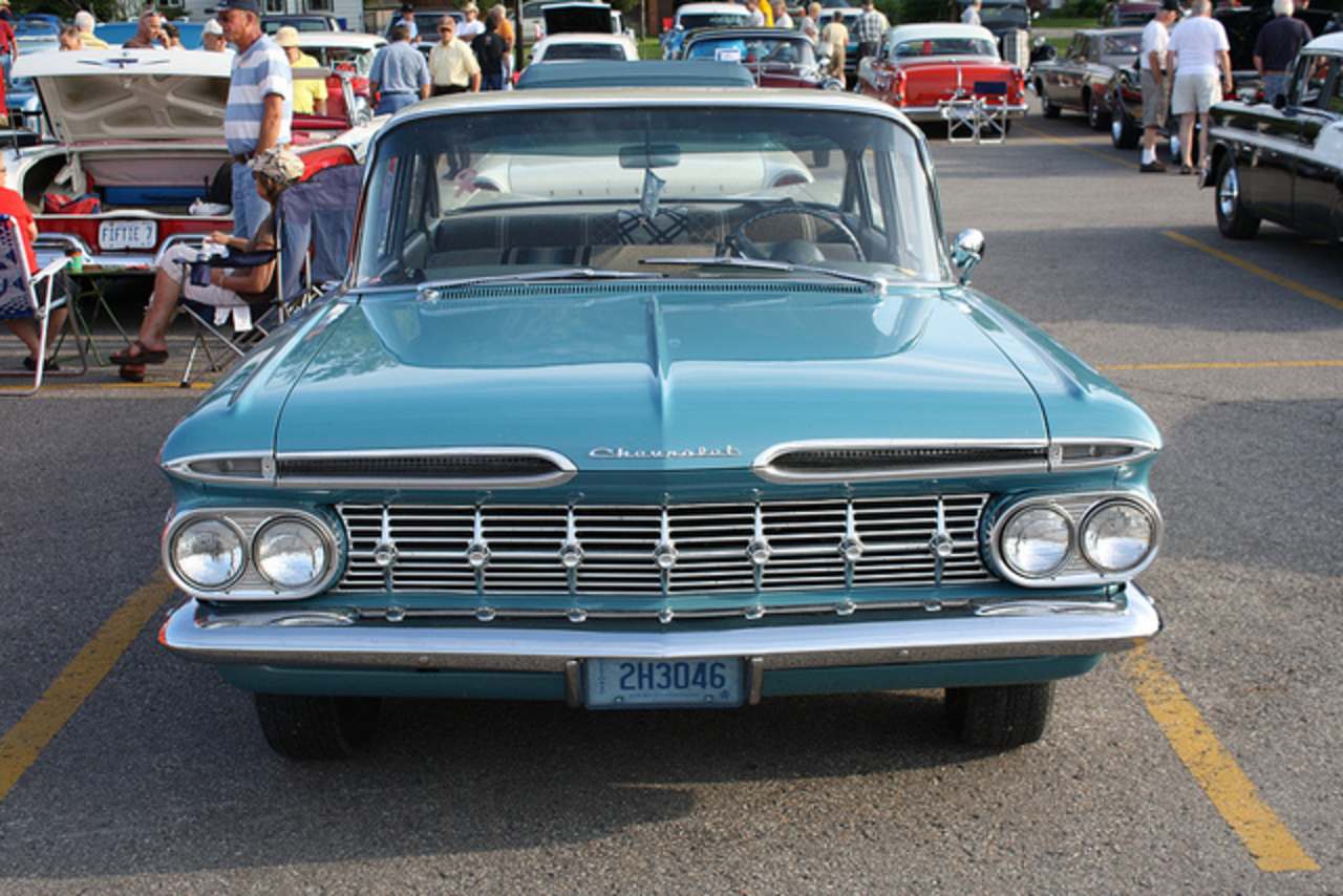 1959 Chevrolet Biscayne 4 door | Flickr - Photo Sharing!