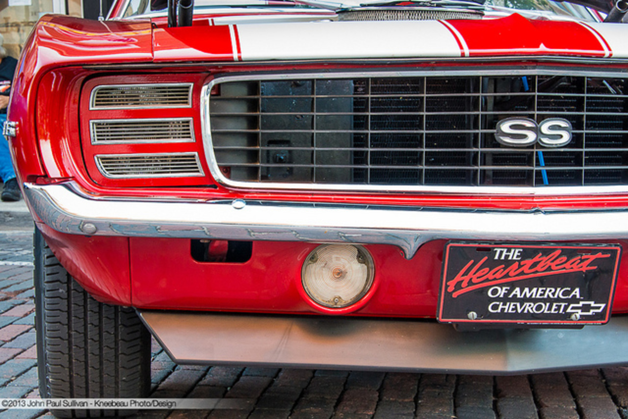 1969 Chevrolet Camaro RS SS 396 Four Speed Grille and Hide-a-way ...