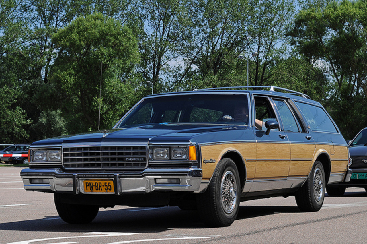 1986, Chevrolet Caprice Estate Wagon K6. | Flickr - Photo Sharing!