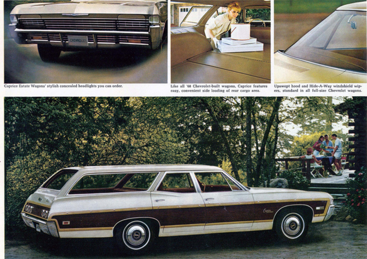 1968 Chevrolet Caprice Estate Wagon | Flickr - Photo Sharing!