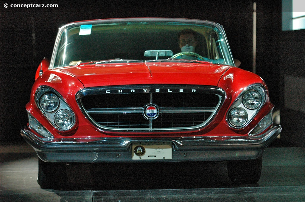1961 Chrysler 300G Images, Information and History (300-G ...