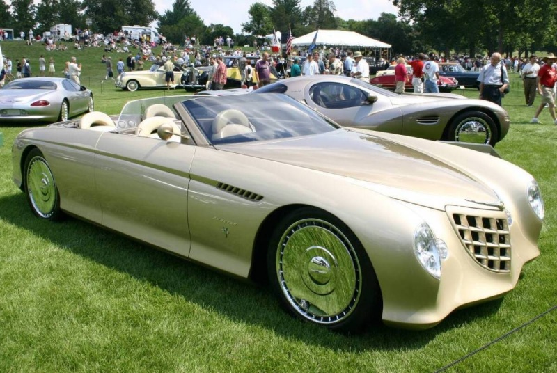 Chrysler Phaeton Concept Car - Remarkable Vehicles
