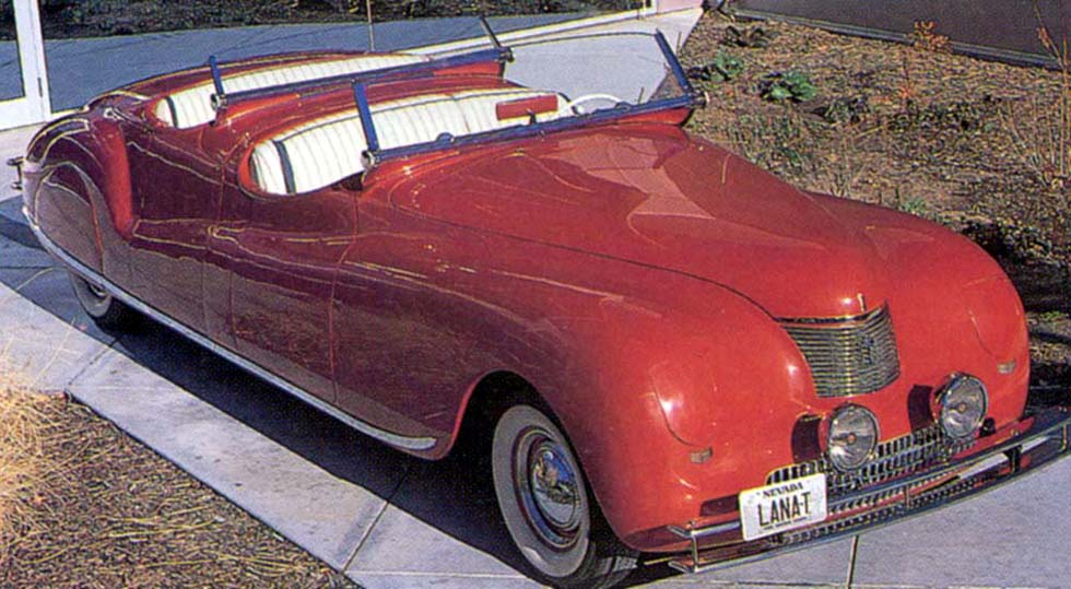 1940 and 1941 Chrysler Newport Phaetons