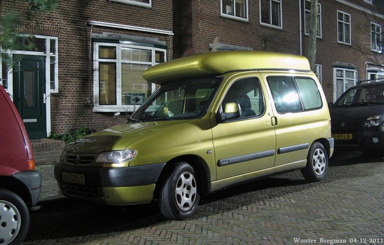 Citroën Berlingo 1.4i Multispace camper 2001 | Flickr - Photo Sharing!