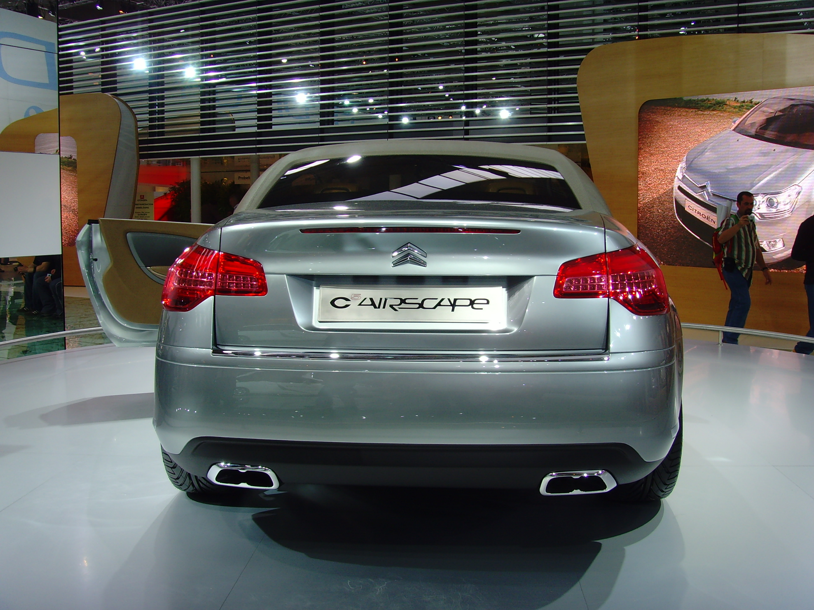 Topworldauto photos of citroen c5 photo galleries filecitroen c5 airscape iaa 2007 006g vanachro Image collections