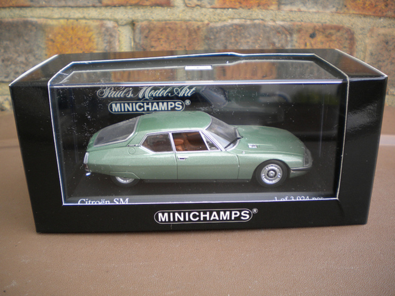 Minichamps Citroen SM Metallic Green | Flickr - Photo Sharing!
