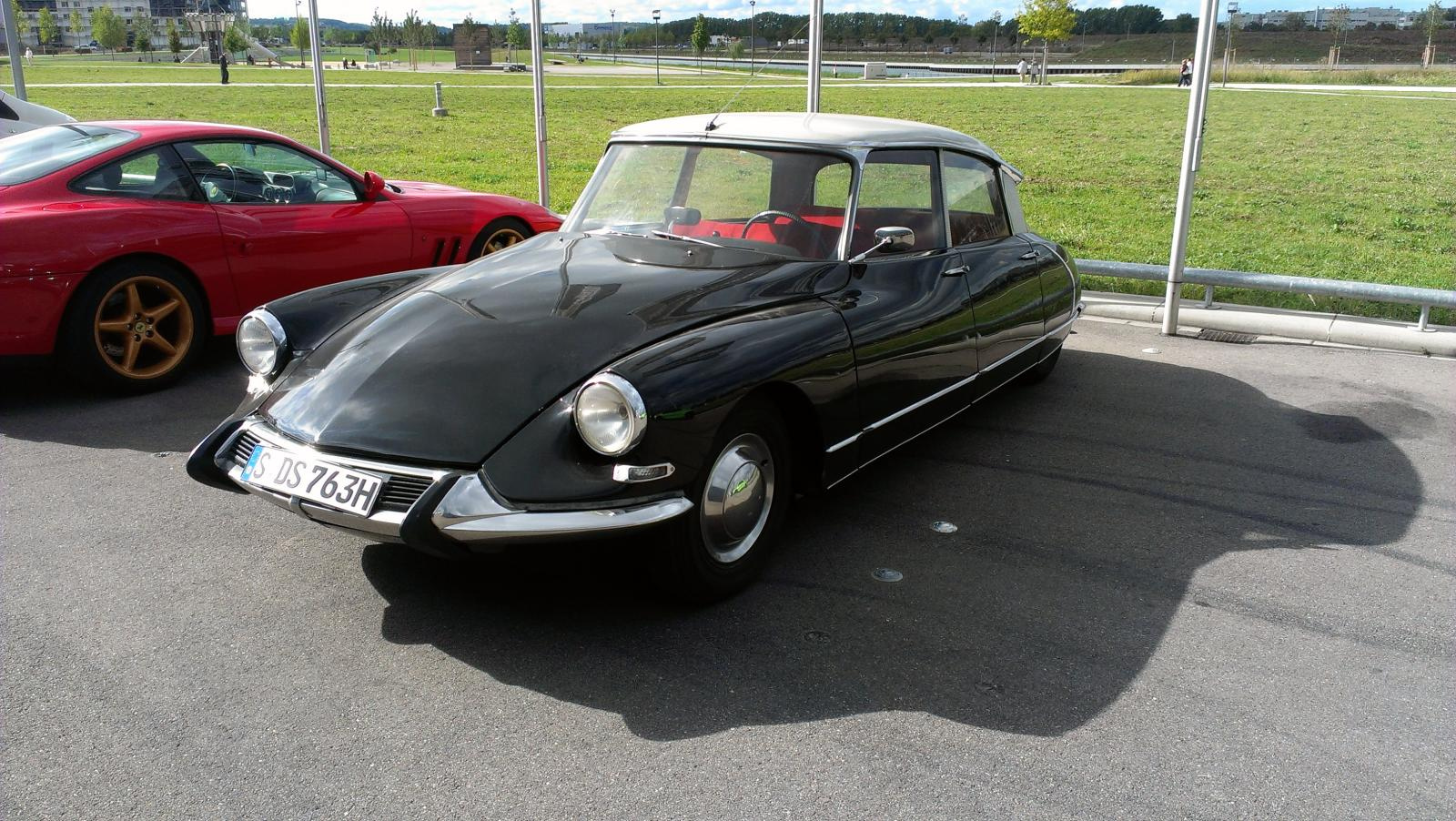 Citroen DS 19 - Meilenwerk Böblingen | Flickr - Photo Sharing!