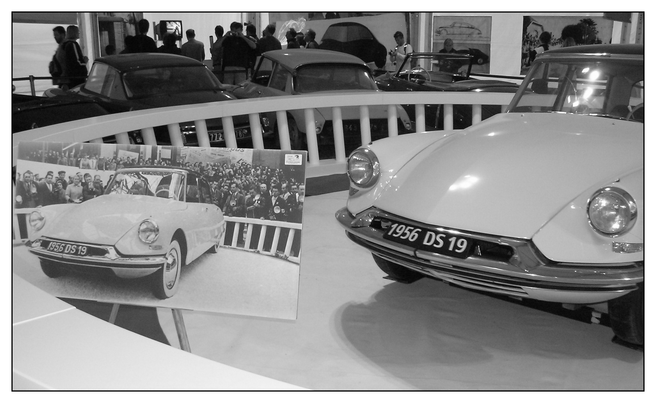 Citroën DS 19 - Salon de Paris 1956 | Flickr - Photo Sharing!