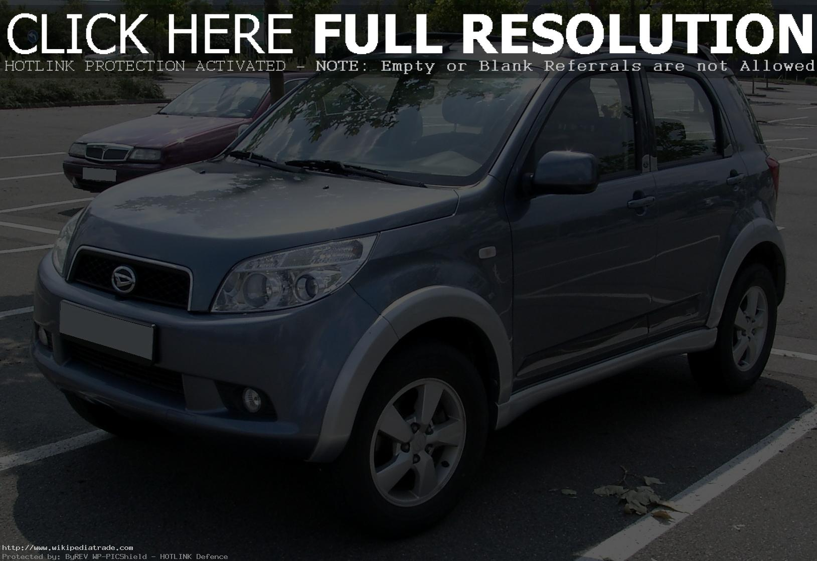 Daihatsu Terios | TOP GEAR AUTO BLOG