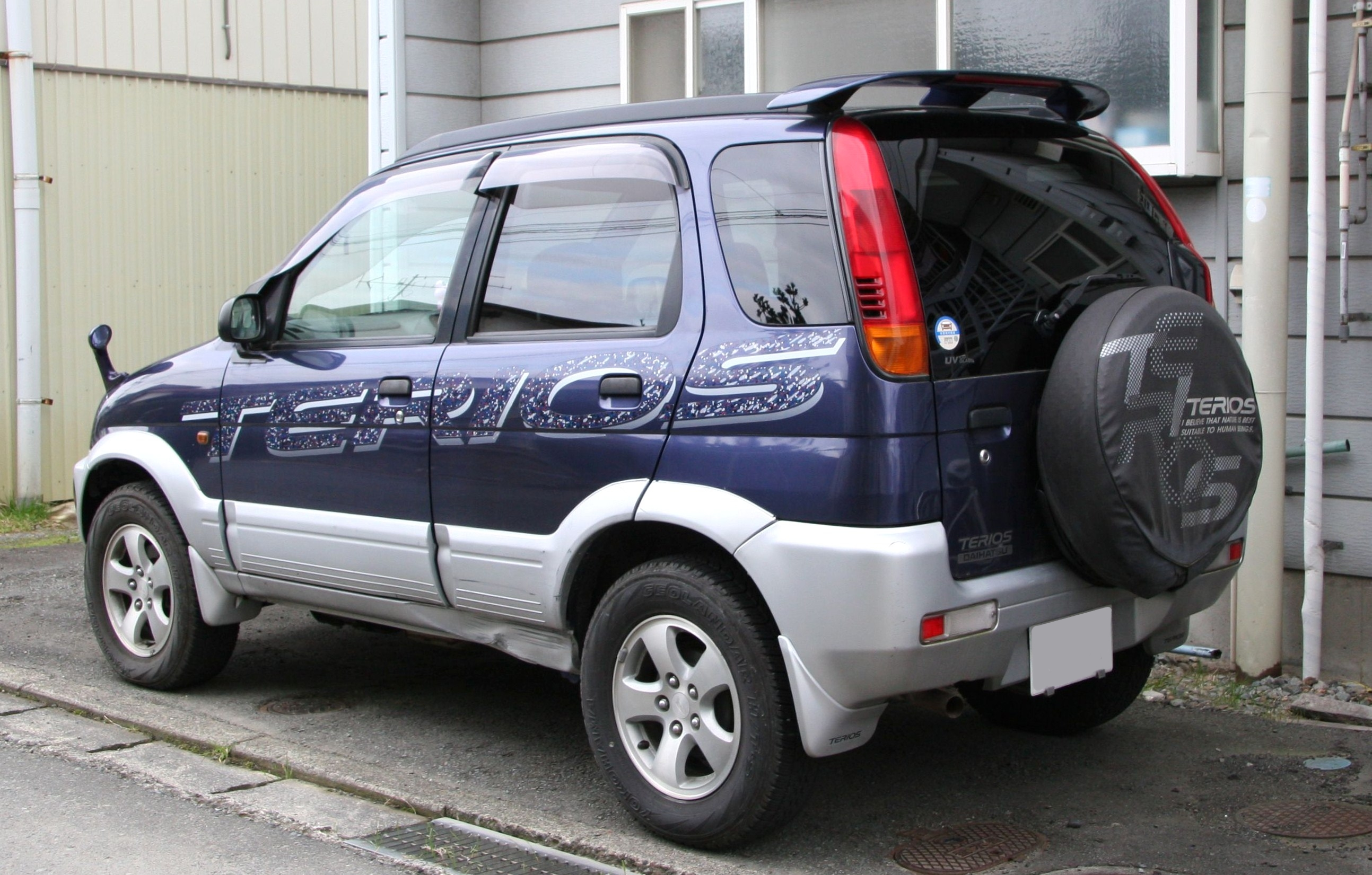 File:Daihatsu Terios rear.jpg - Wikimedia Commons