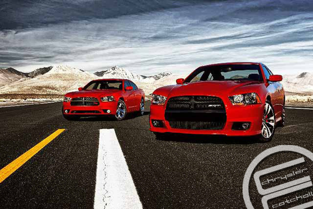 2011 Dodge Charger RT and the 2012 SRT8 | Flickr - Photo Sharing!