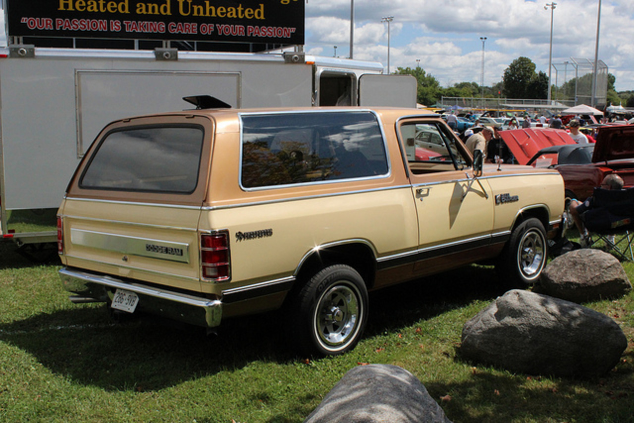 1985 Dodge Ramcharger Prospector 4X4 | Flickr - Photo Sharing!