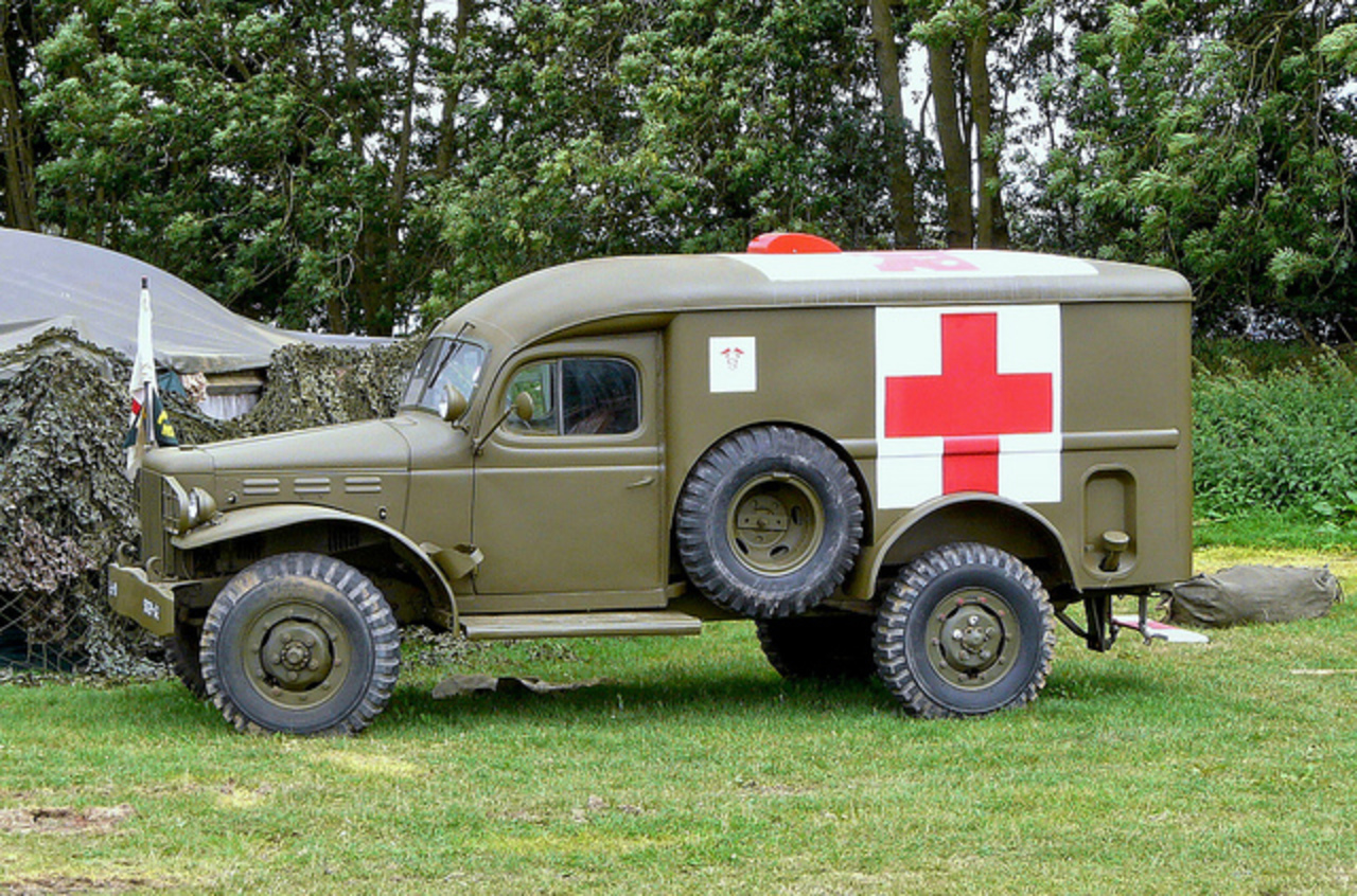 Dodge WC54 .75 ton Army Ambulance | Flickr - Photo Sharing!