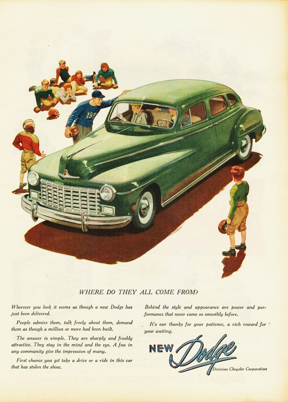 1946 Dodge Custom Four-Door Sedan | Flickr - Photo Sharing!