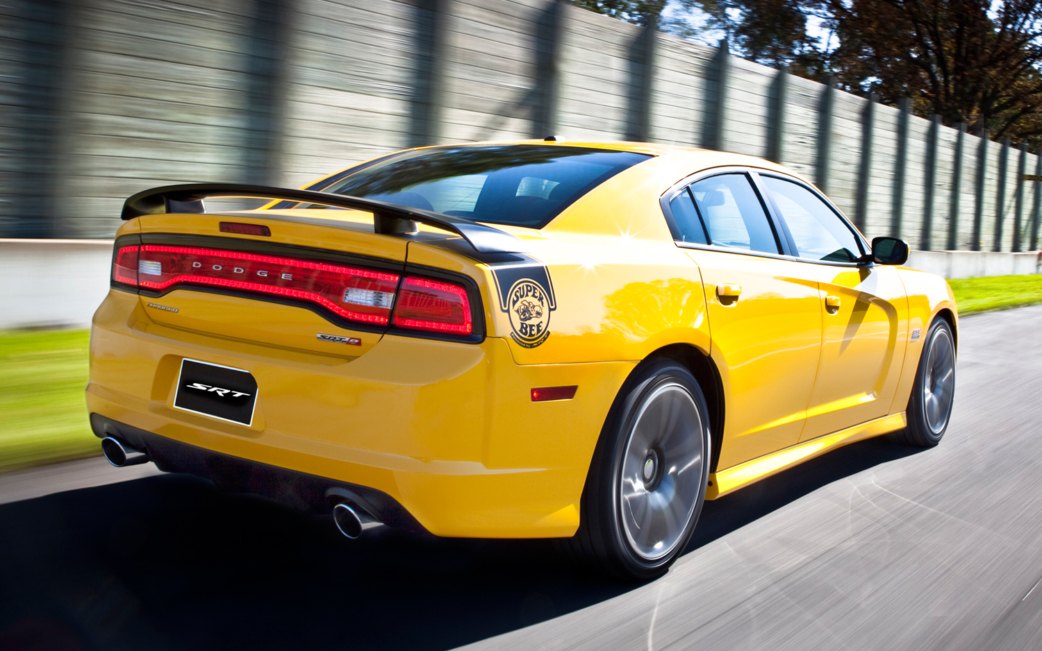 2012 Dodge Charger SRT8 Super Bee Rear Three Quarter Photo 11
