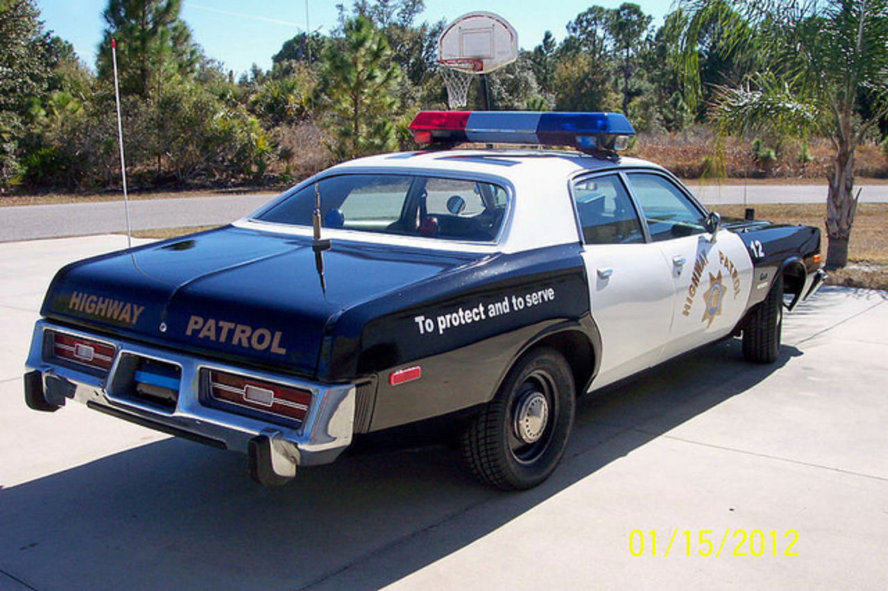 1976 Dodge Coronet Police car | Flickr - Photo Sharing!