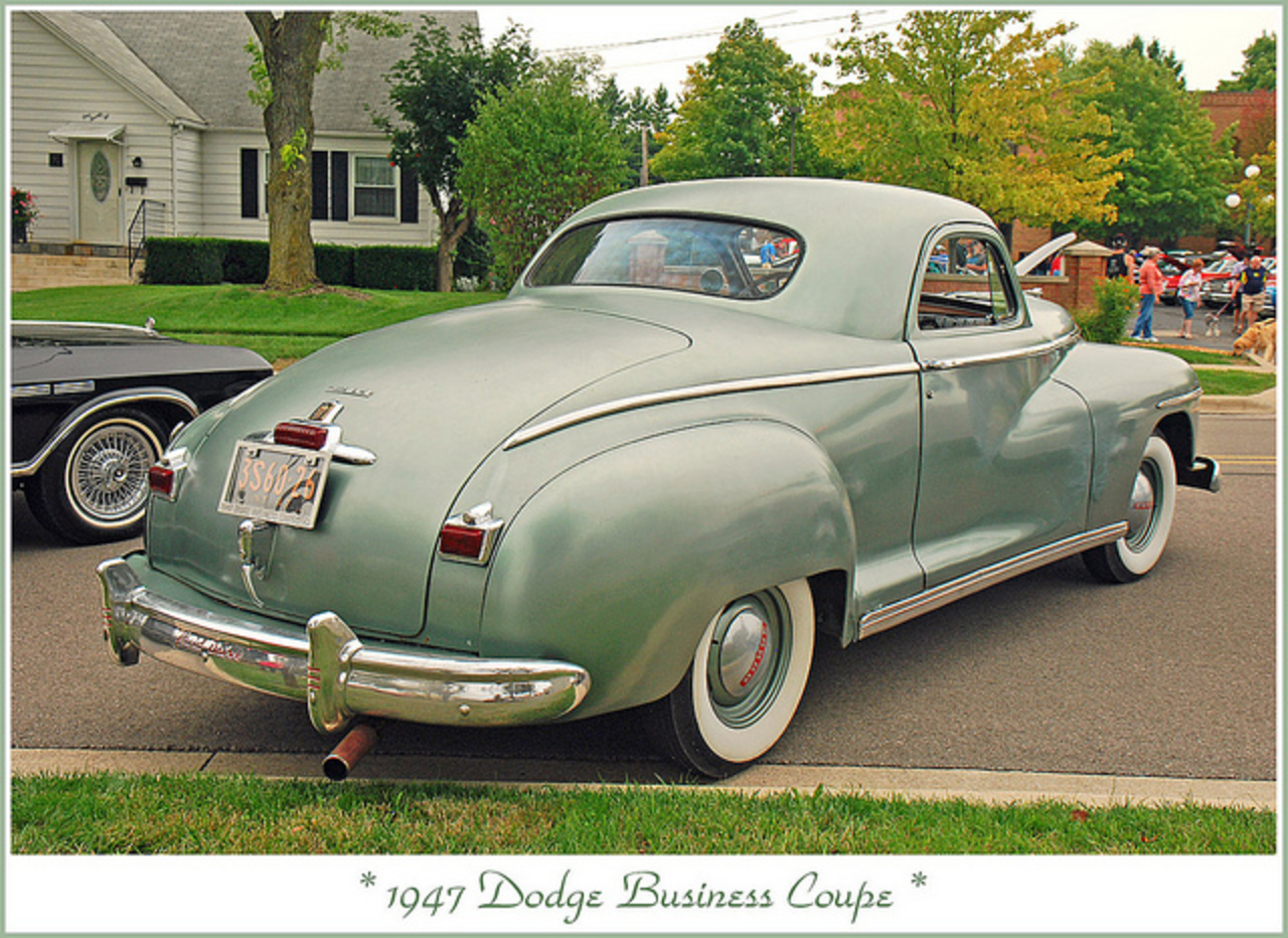 1947 Dodge Business Coupe | Flickr - Photo Sharing!
