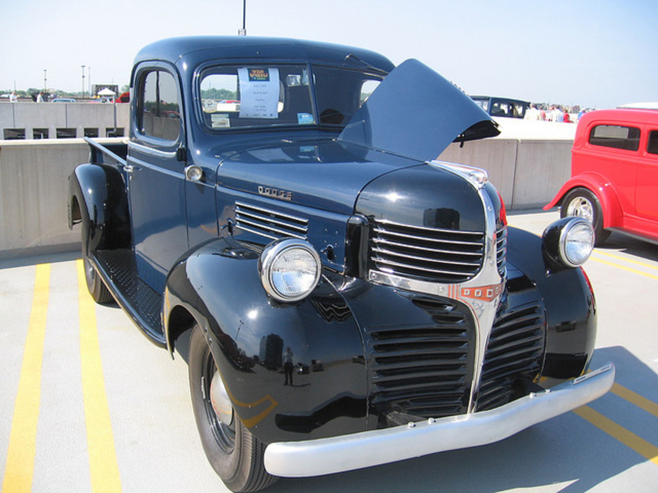 1947 Dodge Half-Ton Pickup at Chrysler Wild Wheels @ Work | Flickr ...