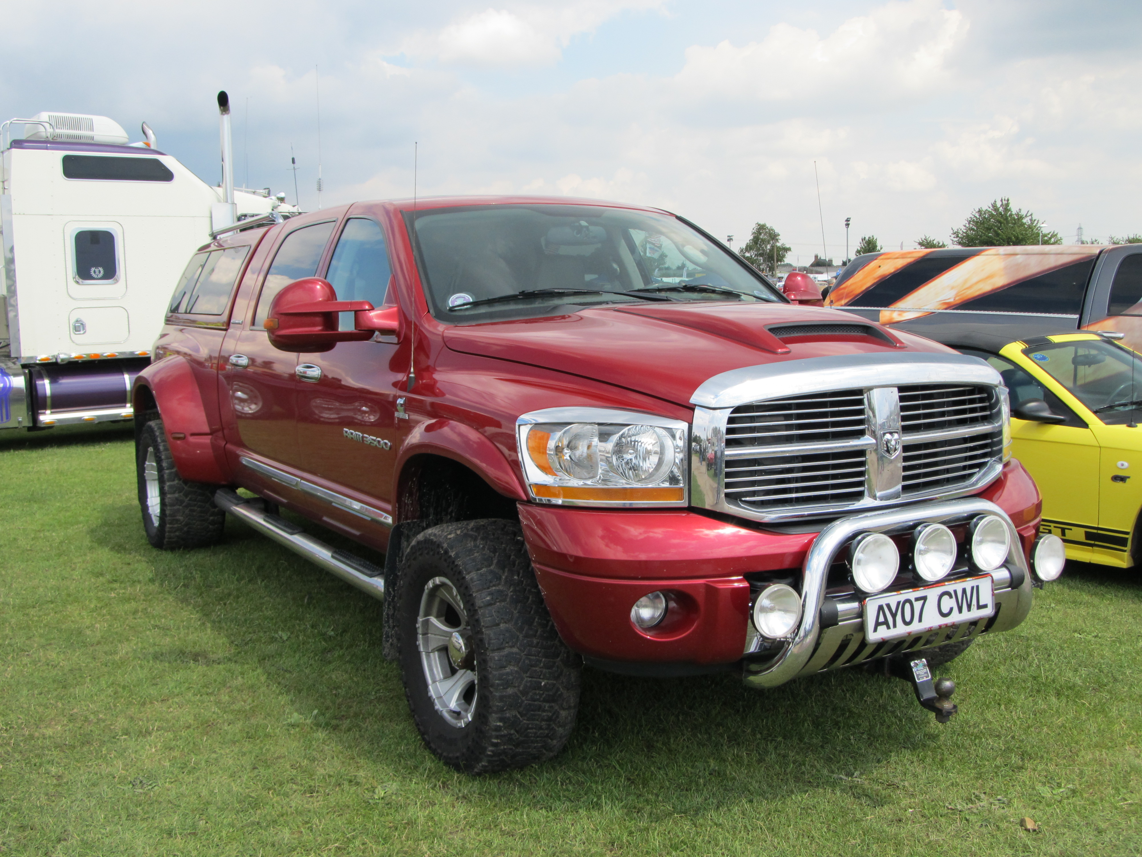 Dodge Ram Pickup, Americana Car Shows in England. | Flickr - Photo ...