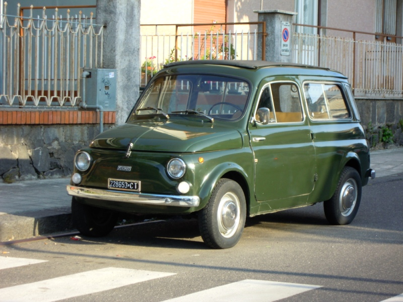 Fiat Cinquecento Giardinetta | Flickr - Photo Sharing!