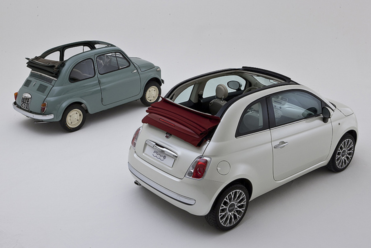 Fiat Cinquecento & Fiat 500 Cabrio | Flickr - Photo Sharing!