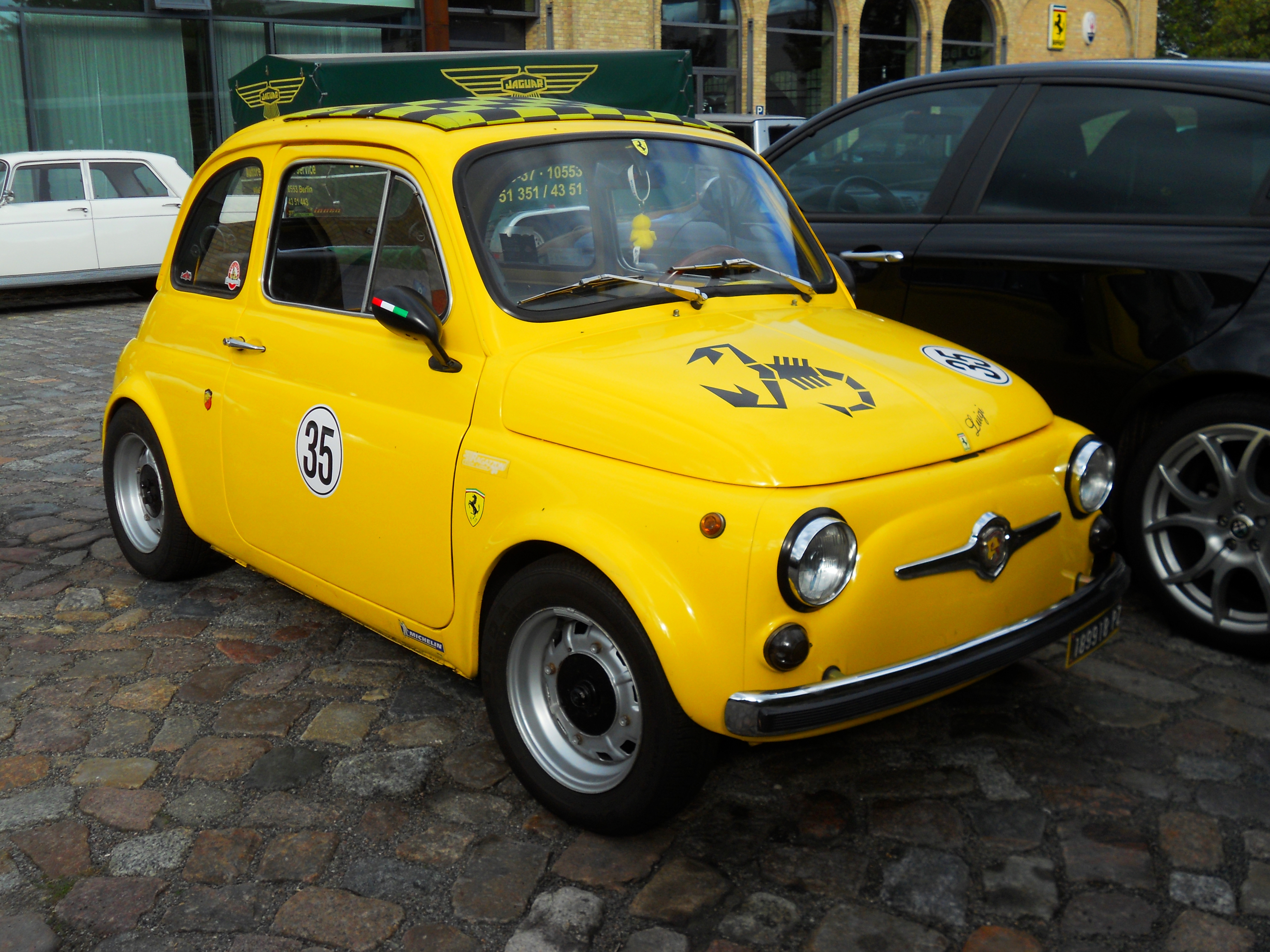 Fiat Cinquecento Abarth tipo 110 | Flickr - Photo Sharing!