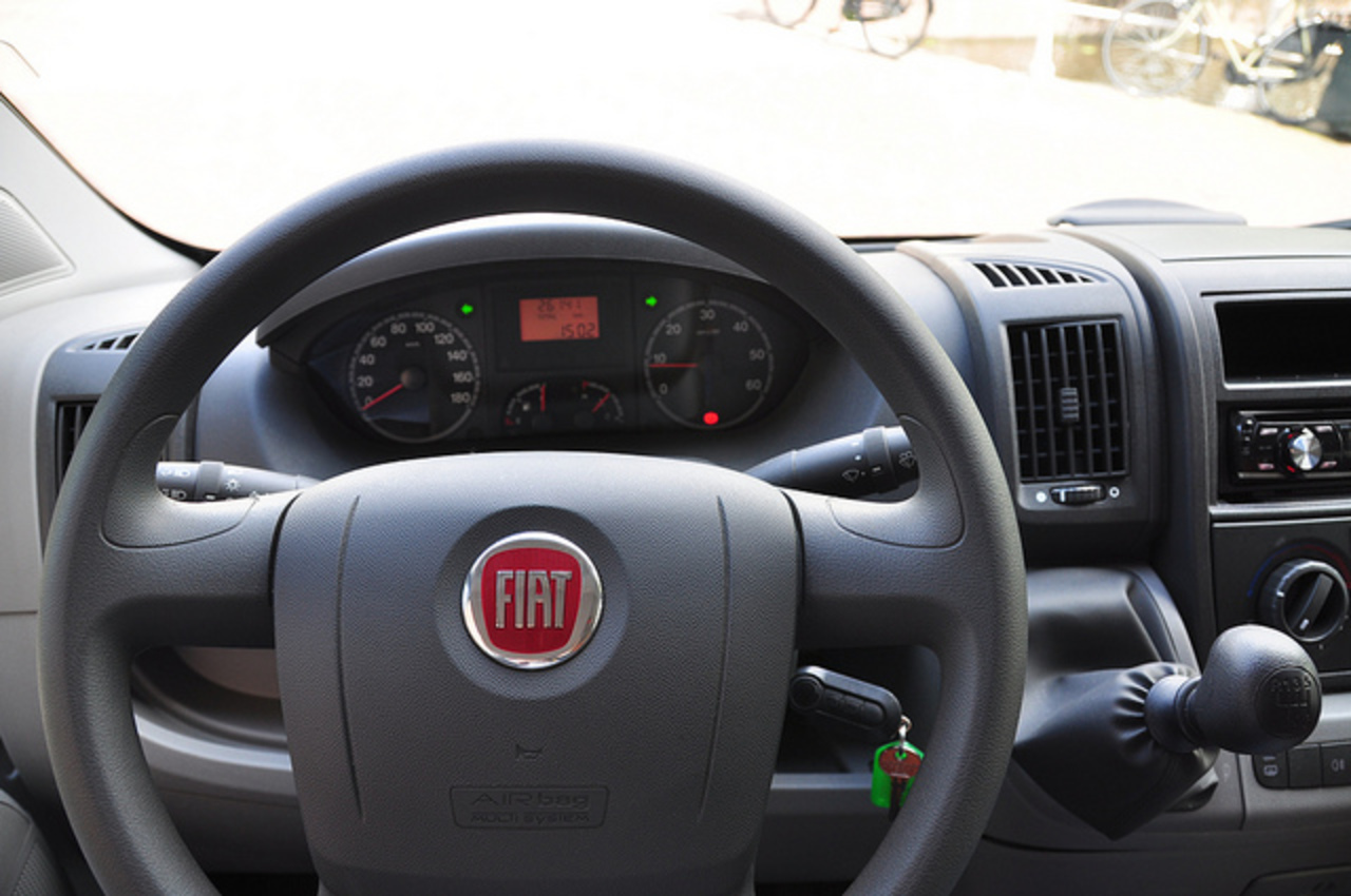 Dashboard of a Fiat Ducato | Flickr - Photo Sharing!
