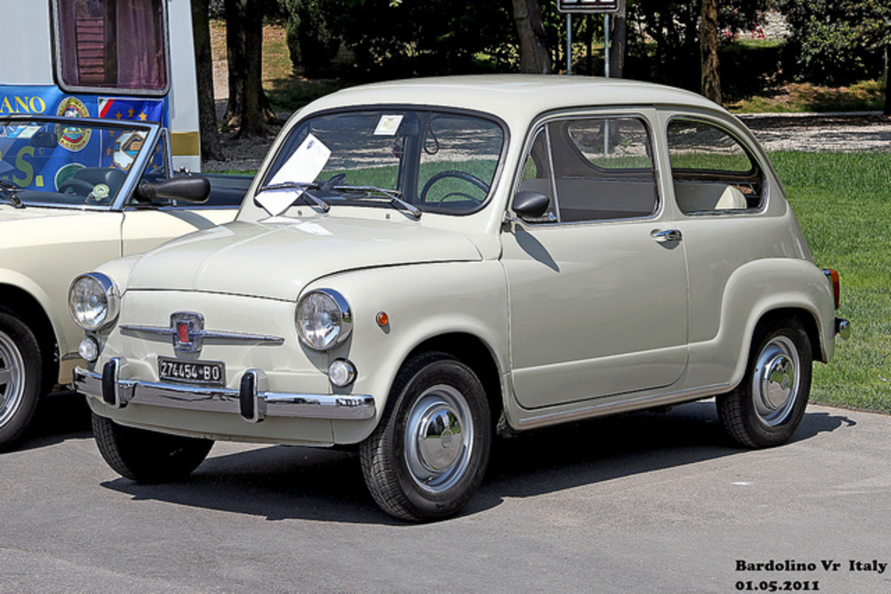 topworldauto photos of fiat 600 photo galleries. Black Bedroom Furniture Sets. Home Design Ideas
