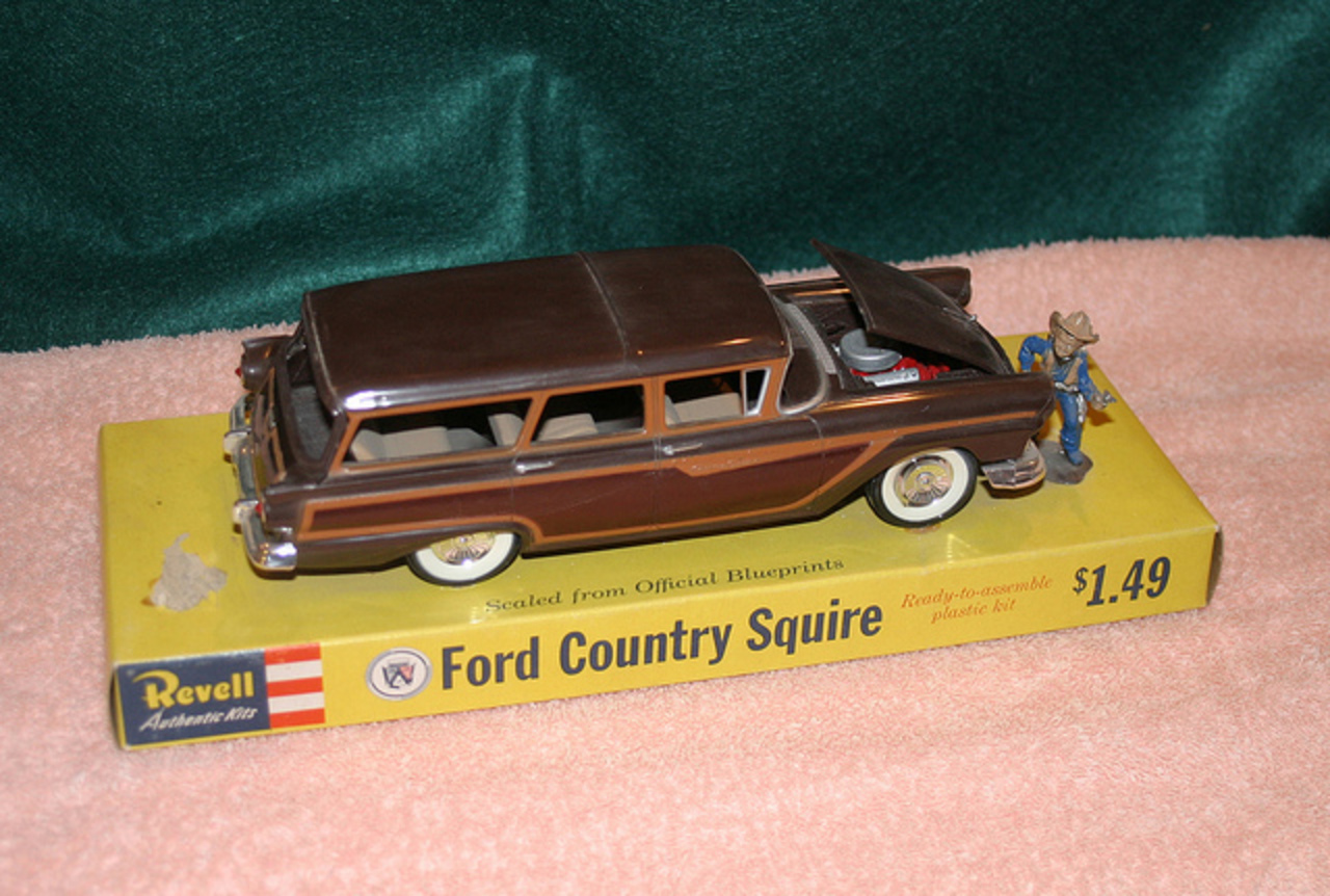 1957 Ford Country Squire Station Wagon Model Car | Flickr - Photo ...