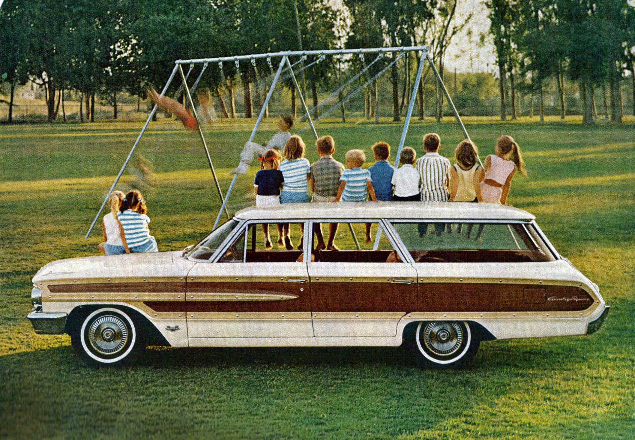 1964 Ford Country Squire Station Wagon | Flickr - Photo Sharing!