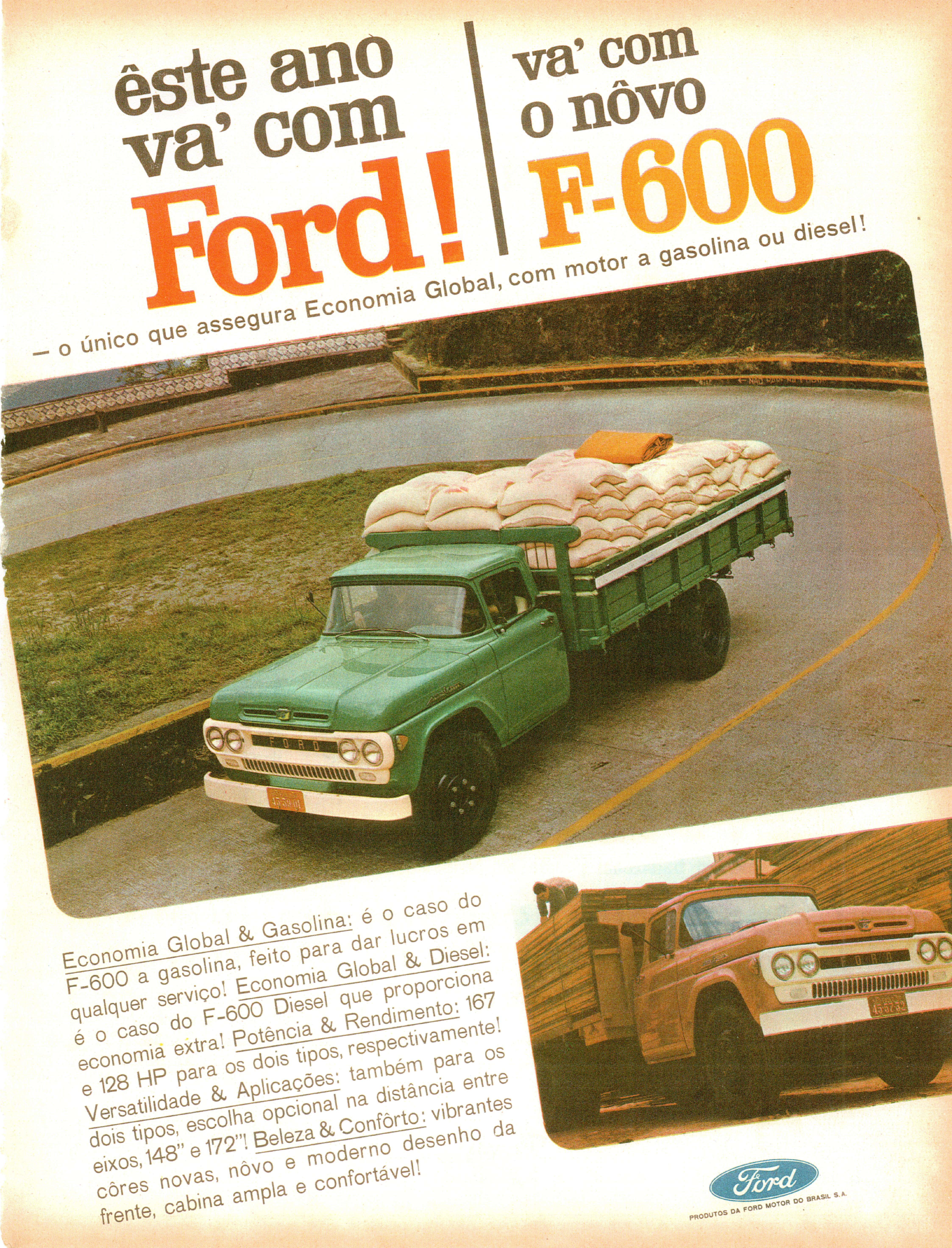 1965 Ford F-600 (Brazil) | Flickr - Photo Sharing!