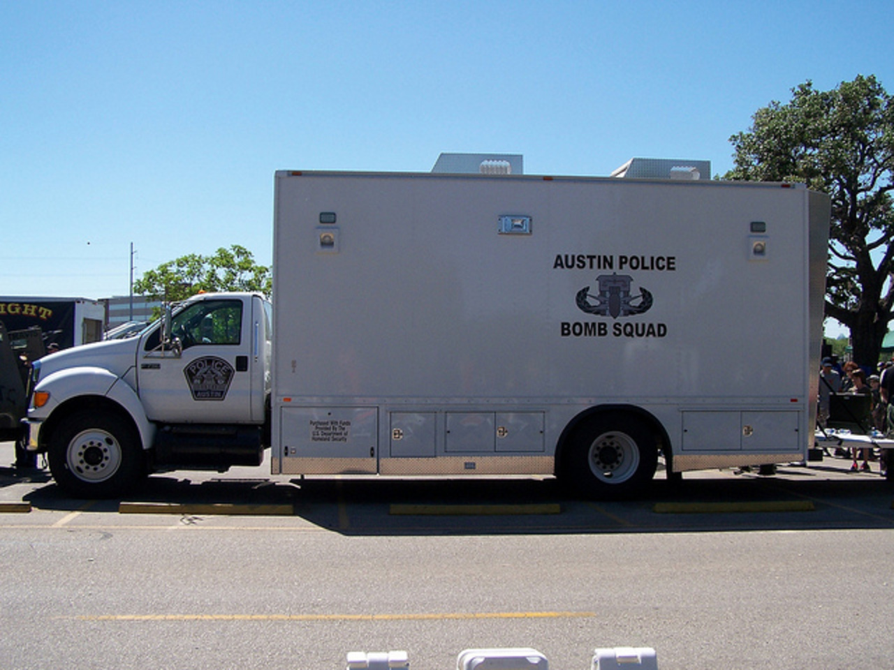 Austin, TX Police Bomb Squad Ford F-750 | Flickr - Photo Sharing!