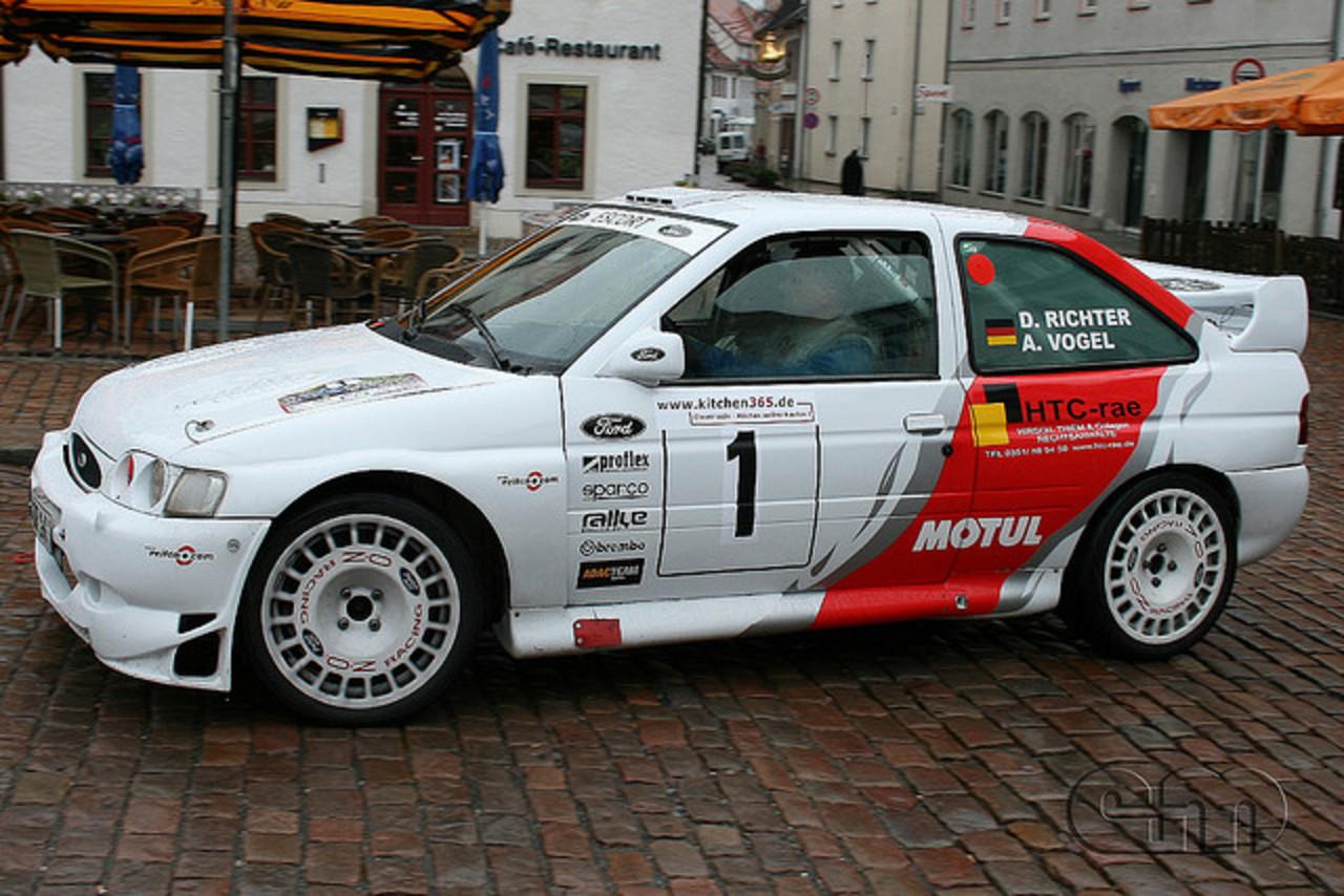 Escort cosworth rally car