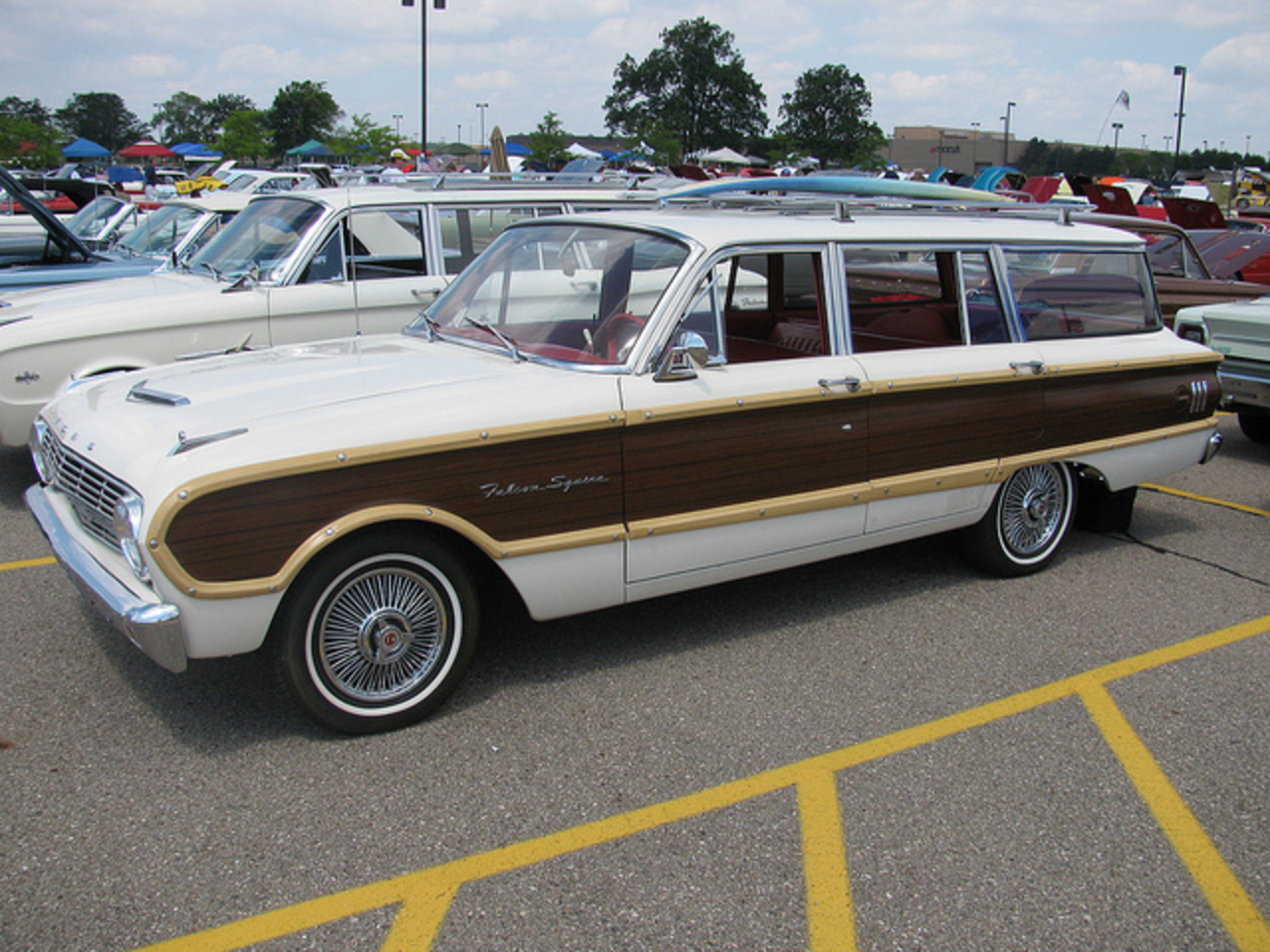 1963 Ford Falcon Squire Wagon | Flickr - Photo Sharing!