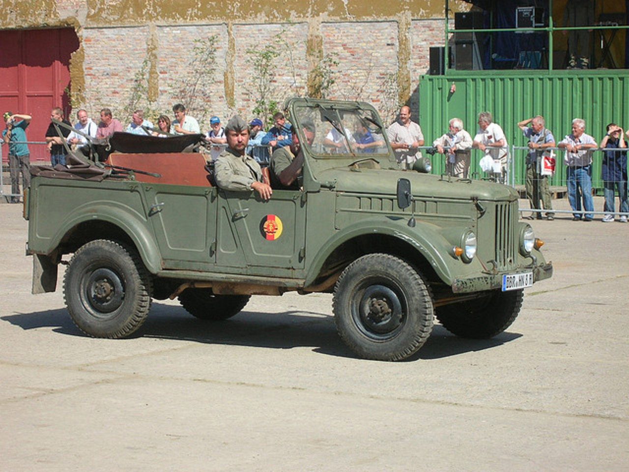 GAZ 69 | NVA Jeep from Russia (East Germany) | Flickr - Photo Sharing!