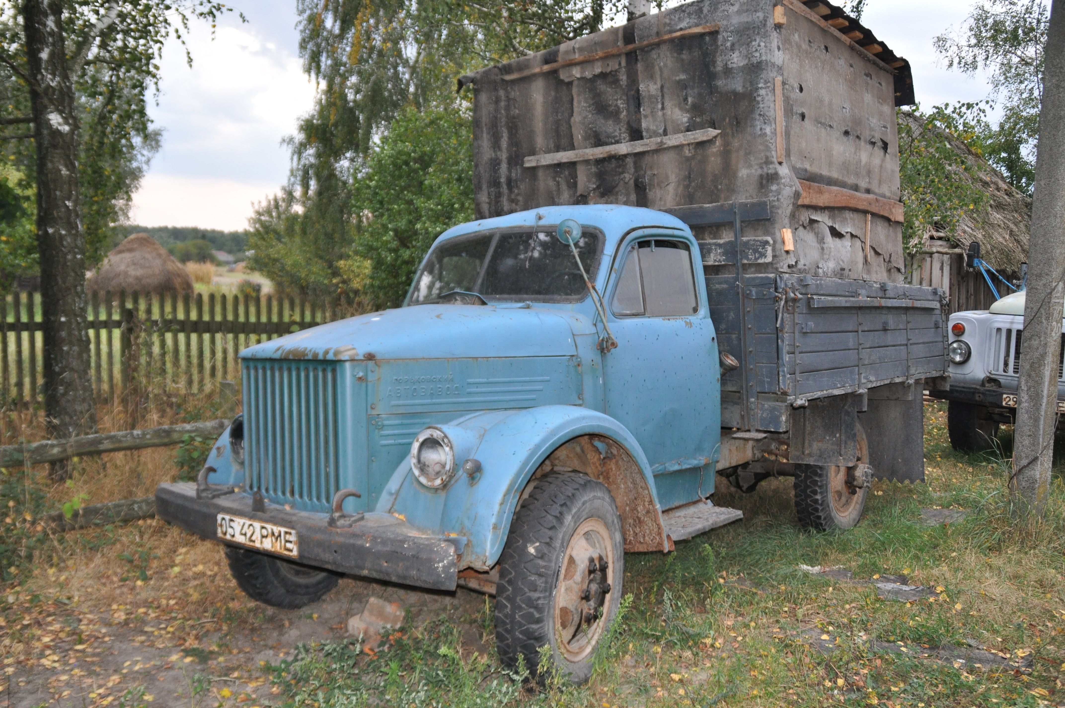 Old GAZ - 51 truck . | Flickr - Photo Sharing!