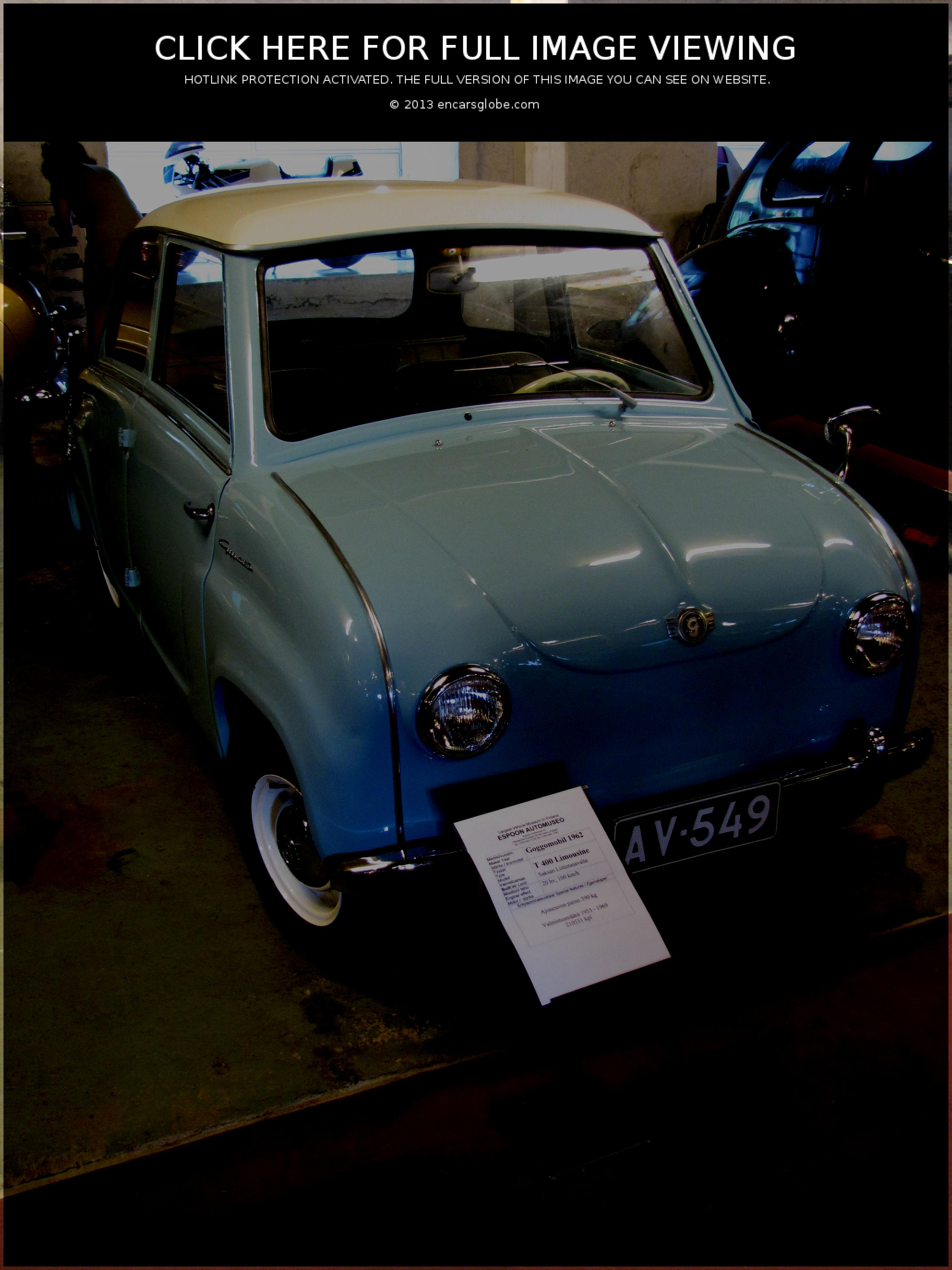 Glas Goggomobil Limousine Photo Gallery: Photo #11 out of 9, Image ...