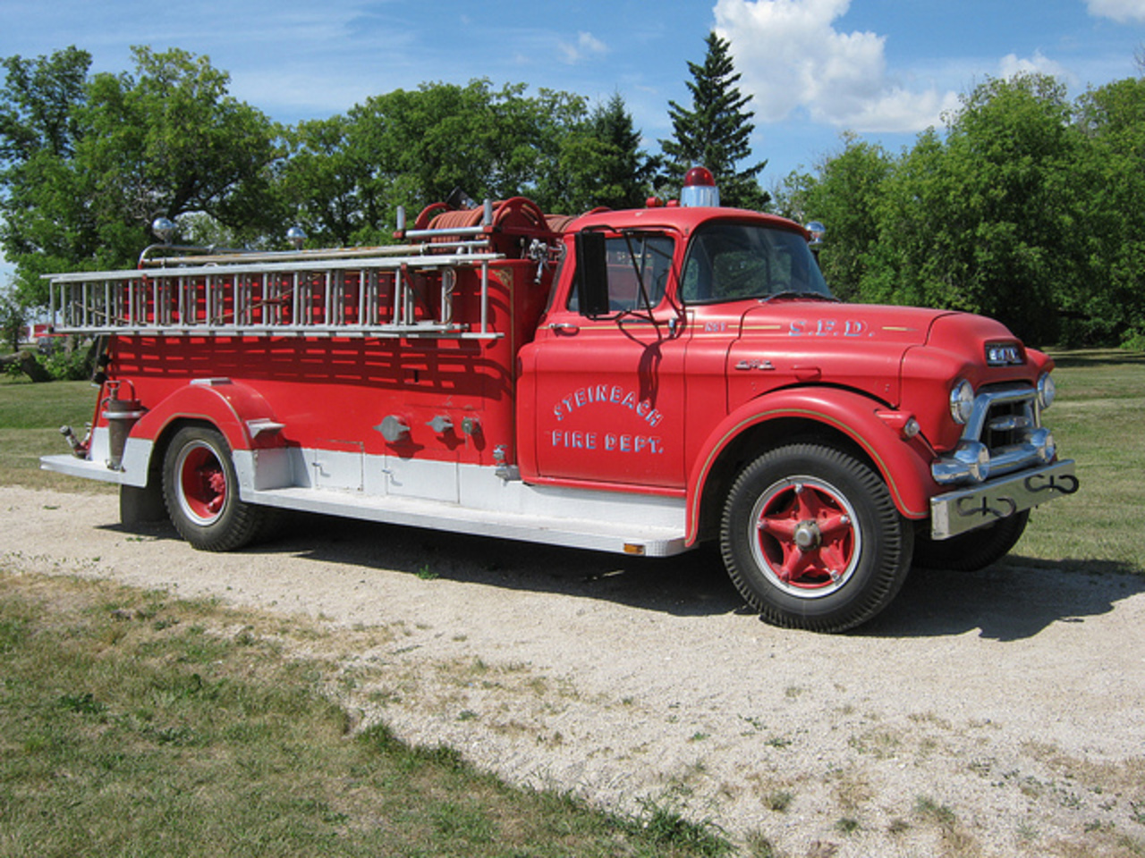 GMC Fire Truck | Flickr - Photo Sharing!