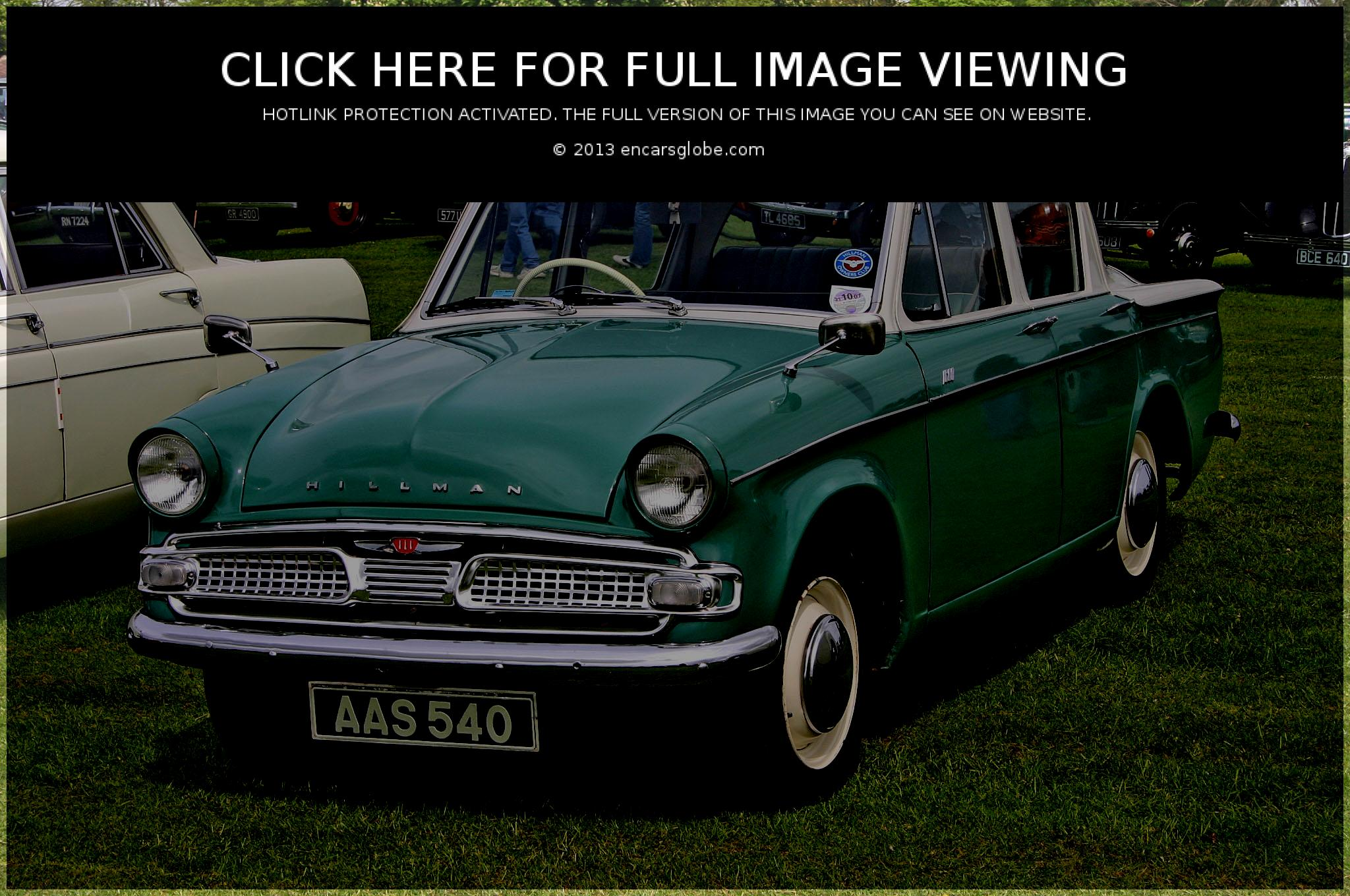 Hillman Super Minx sedan Photo Gallery: Photo #11 out of 9, Image ...