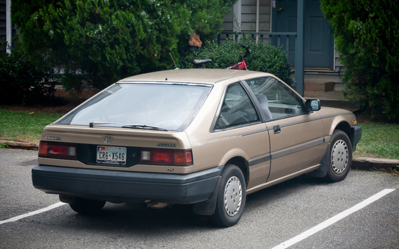 1988 Honda Accord DX Hatchback | Flickr - Photo Sharing!