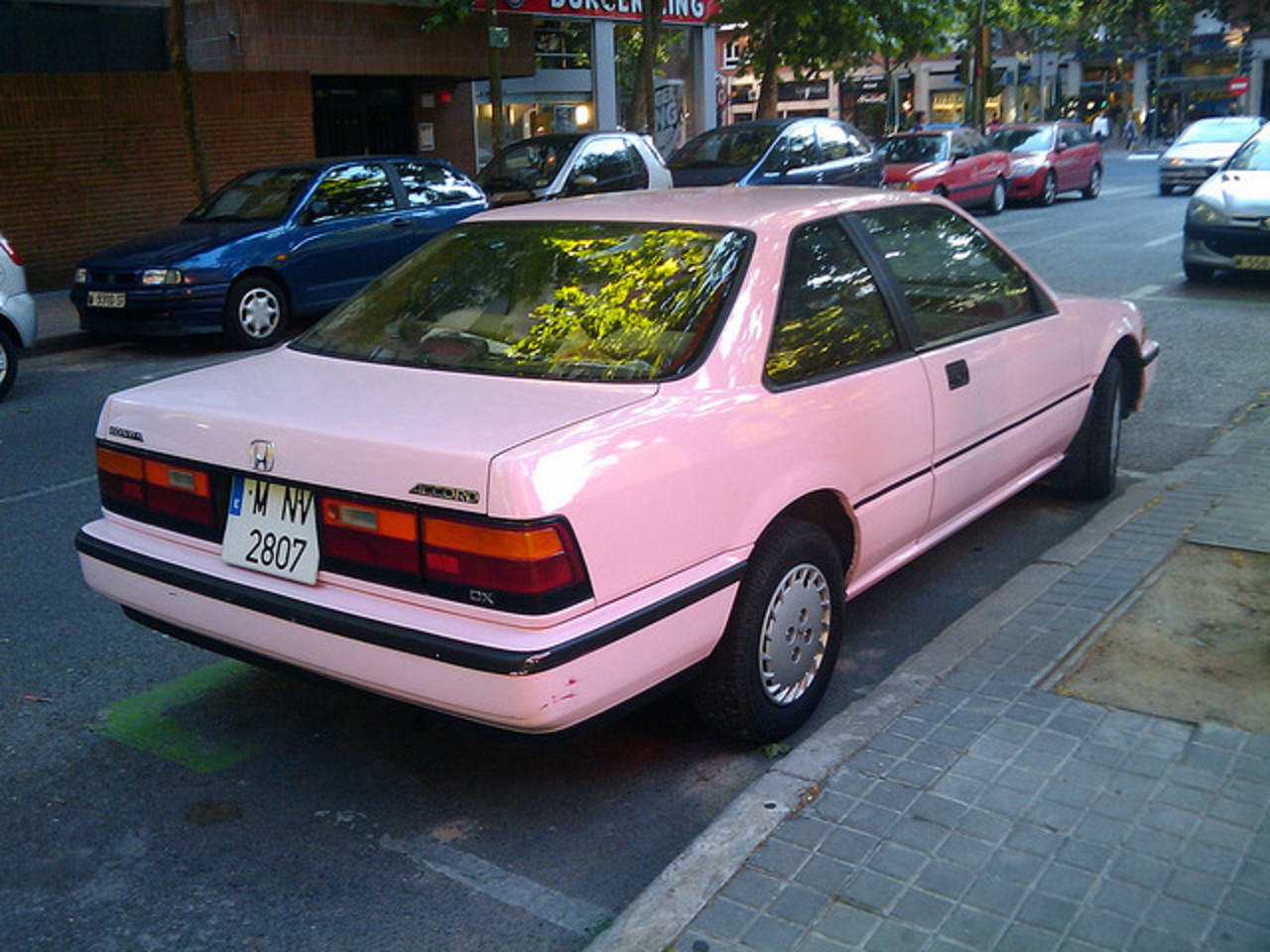 Pink Honda Accord DX Coupe | Flickr - Photo Sharing!
