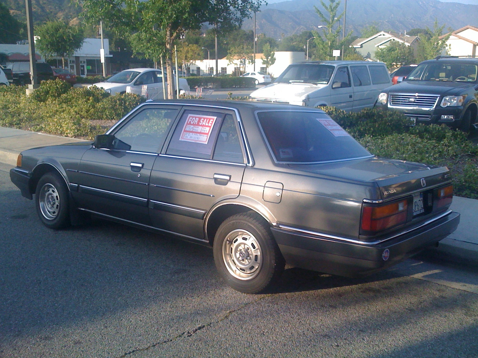 1984 Honda Accord DX | Flickr - Photo Sharing!