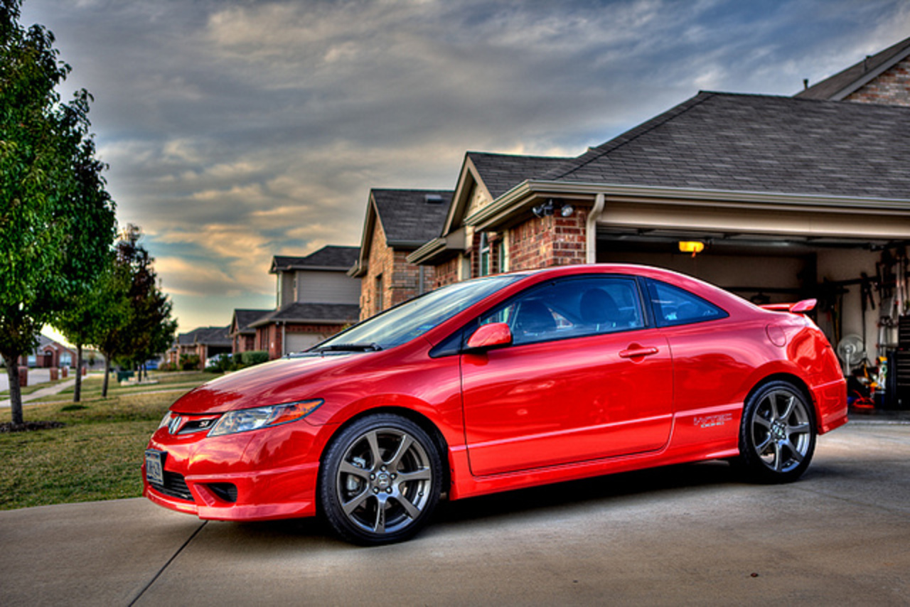 topworldauto photos of honda civic si photo galleries. Black Bedroom Furniture Sets. Home Design Ideas