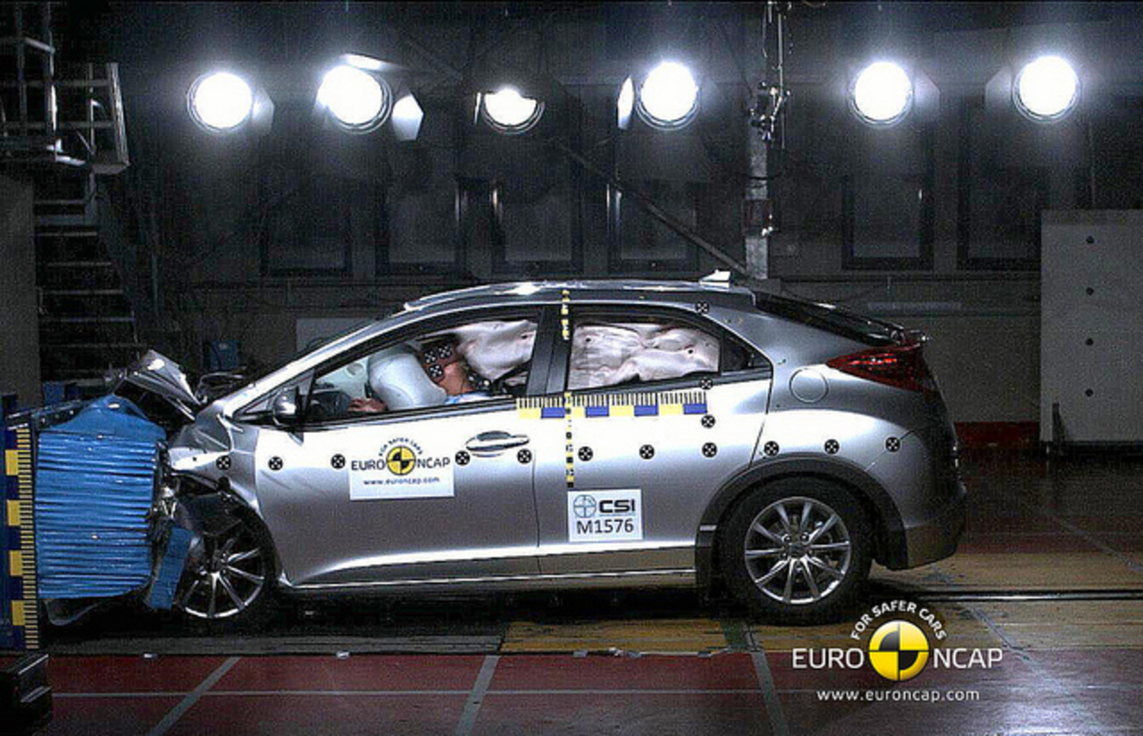 Honda Civic Hatch (2012-on) 5 star ANCAP safety rating | Flickr ...