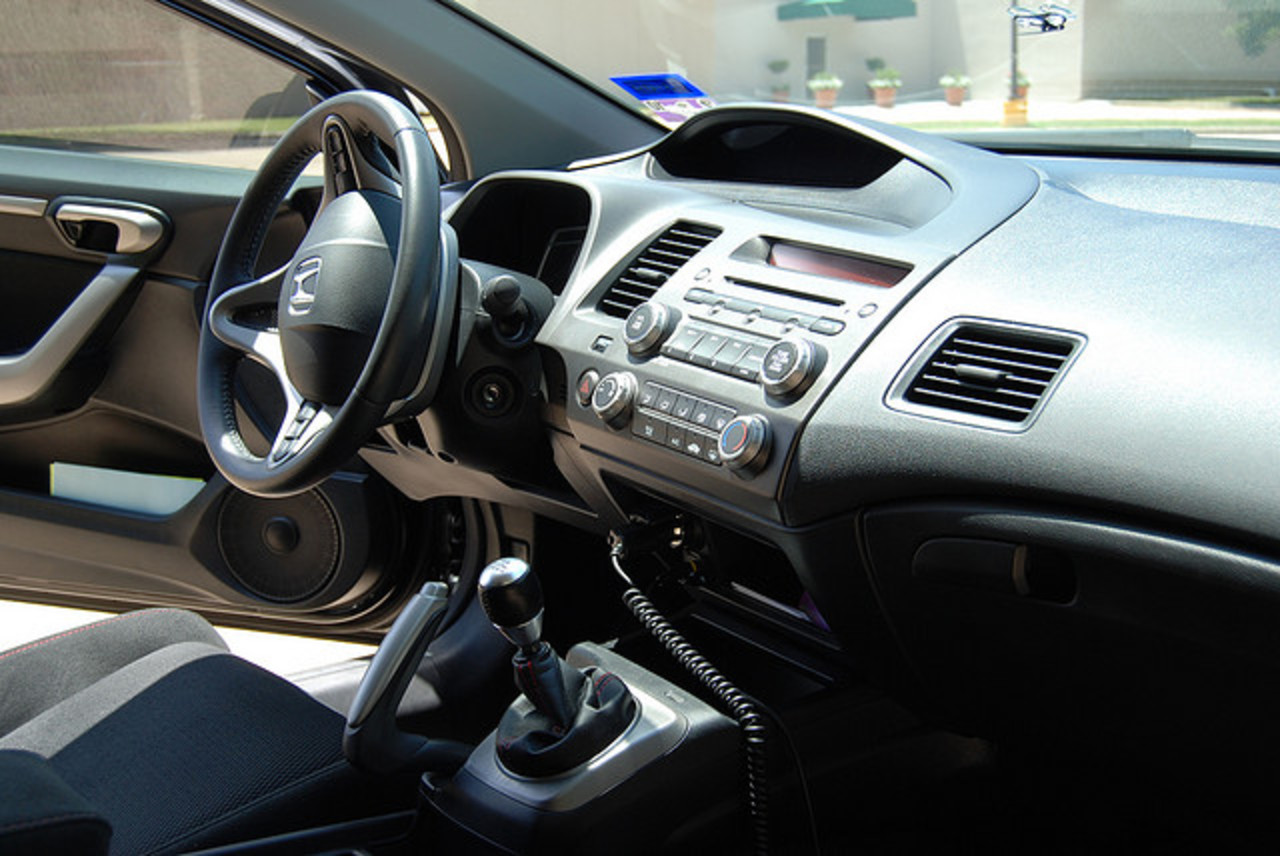 Honda Civic Si Interior | Flickr - Photo Sharing!
