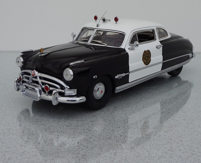 1951 Hudson Hornet Club Coupe - Police Cruiser | Flickr - Photo ...