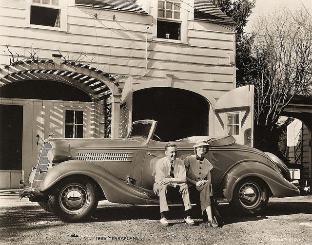 35 Hudson Terraplane GU DeLuxe 6 Convt Coupe | Flickr - Photo Sharing!