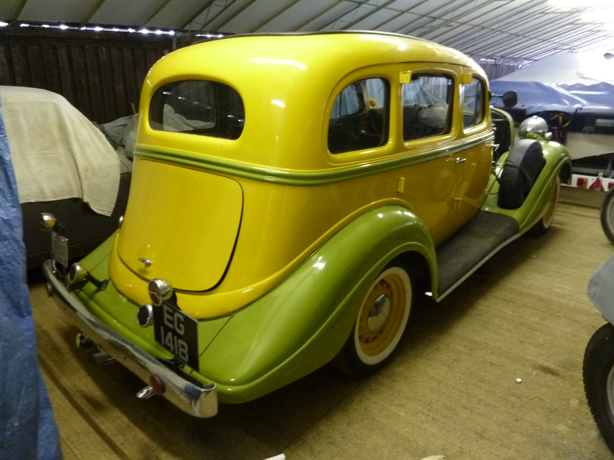 EG 1418 - 1934 Hudson Terraplane (Essex) | Flickr - Photo Sharing!