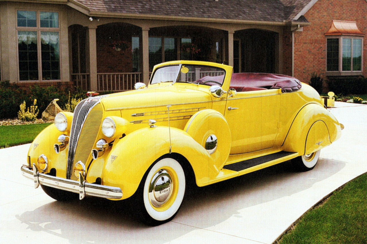 1936 Hudson Eight Convertible Brougham | Flickr - Photo Sharing!